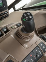 Optional integrated crossgate joystick