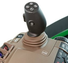 Optional crossgate joystick