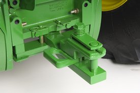 Category 2 drawbar with clevis