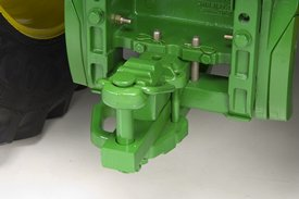 Cat. 3 drawbar with clevis with pin