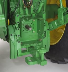 Category 3 drawbar with clevis