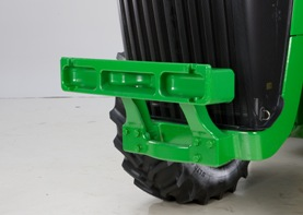 8R and 8RT front weight support