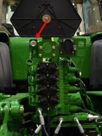 Brake coupler on a 9030T Series Tractor