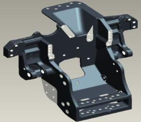 Heavy drawbar support