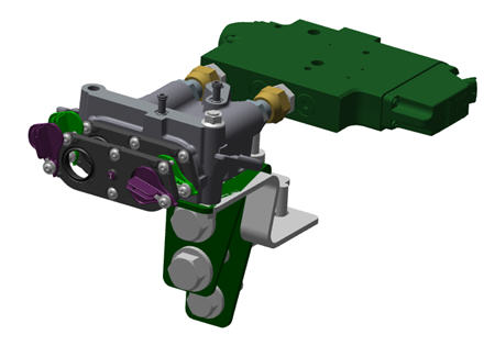 1.9-cm (¾-in.) SCV coupler kit (BRE10107 shown)