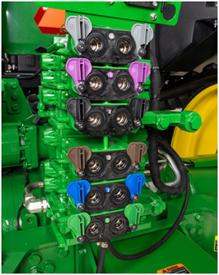 Selective control valve (SCV) stack
