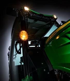 Front work lights
