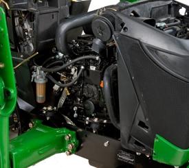 3-cylinder Yanmar TNM Series diesel engine