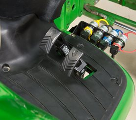 Twin Touch foot controls