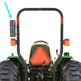 ROPS (with operator's manual holder)