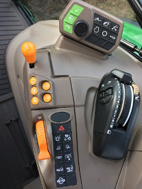 CommandQuad shift controls