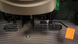 Brake pedals