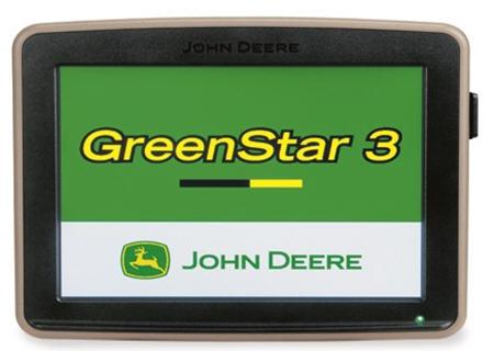 GreenStar 3 2630 Display shown
