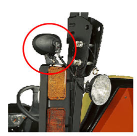 sub compact utility tractors 1023e tractor john deere us lights attach to the brush guards located on the rollover protective structure rops each kit contains two lights