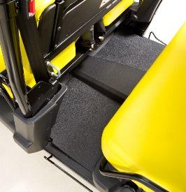 Floor mats (rear)