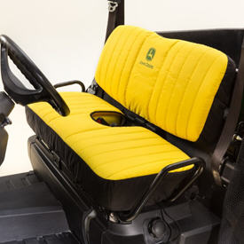Front seat cover - yellow