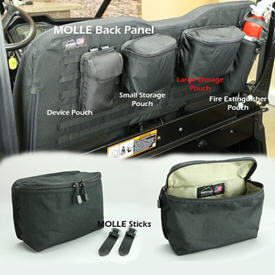 MOLLE large storage pouch