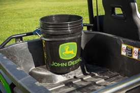 Cargo box pail holder