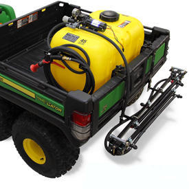 High-performance 45-gal. (170-L) Gator bed sprayer