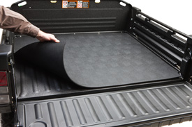 Bed mat—protects the steel floor from dents