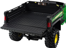 Deluxe cargo box with tailgate lowered