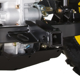 Rear receiver hitch (shown on TX 4X2)