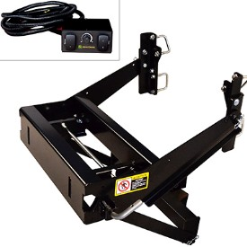 Spreader hitch assembly