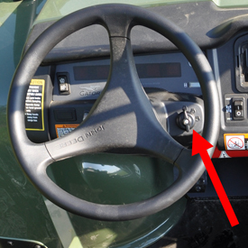 Keyless ignition (military customers only)