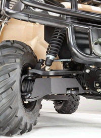 Front suspension detail
