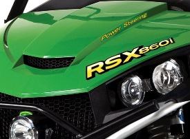 RSX860i with optional power steering