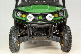 Gator™ XUV 550, shown with front brushguard and Hella® performance spot lights (BM24108)