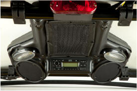 Installed stereo and speaker kit
