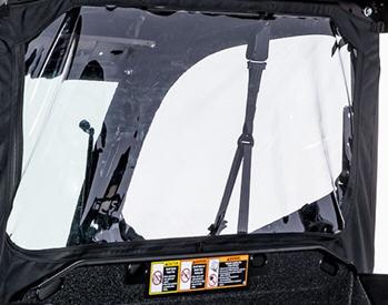 Rear panel detail