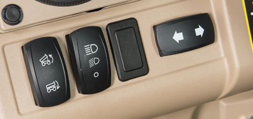 Turn signal switch (right)