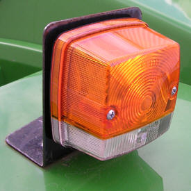 Front marker light