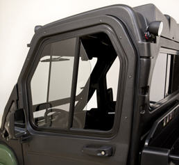 Poly cab doors (shown with glass windshield poly roof and rear panel) : cab doors - pezcame.com