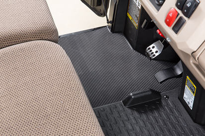 Left floor mat