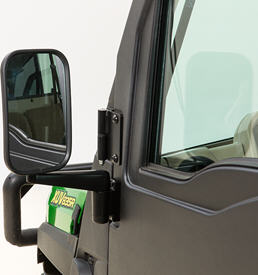Side mirrors – cab door