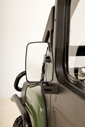 Standard side mirrors