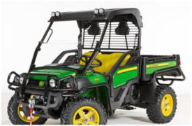 OPS rear screen on Gator™ XUV 825i (front view)