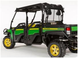 OPS rear screen on Gator XUV 825i S4 (rear view)