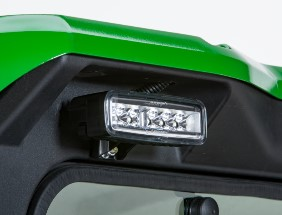 Rear roof light