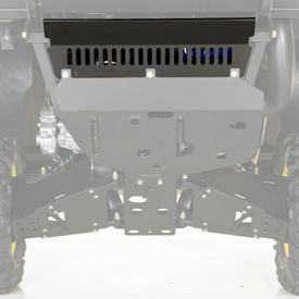 Deflector plate detail