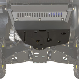 Heavy-duty skid plate detail