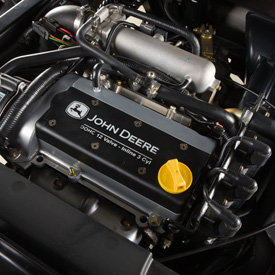 812-cu cm (49.6 cu in.) gasoline engine
