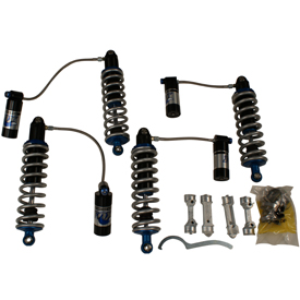 Parts included in Fox Shocks suspension kit