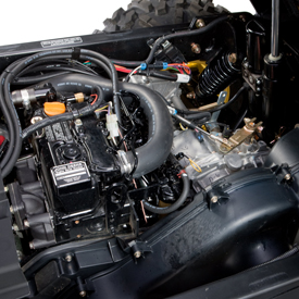 Engine shown on XUV855D