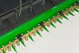 Double-cut cutterbar system