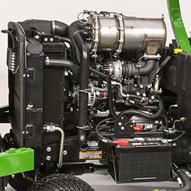 Wide Area-maaier (WAM) 1600 turbo serie III motor
