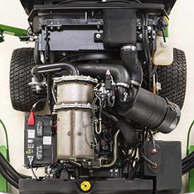Wide Area-maaier 1600 serie III motor